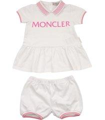 moncler two-piece cotton dress
