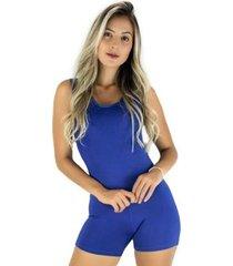 macaquinho mvb modas curto fitness suplex feminino