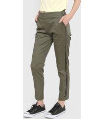 pantalón verde kaba line zeta