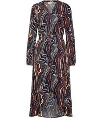 ilka dress maxiklänning festklänning multi/mönstrad minus
