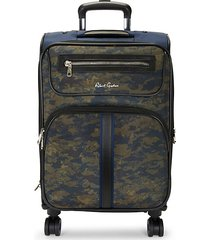 camouflage-print 19-inch suitcase