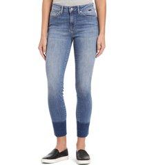 women's mavi jeans alissa release hem vintage ankle jeans