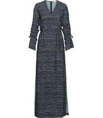 marilyn maxiklänning festklänning blå dagmar