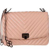 bolsa fedra f5522 rosa - rosa - feminino - dafiti