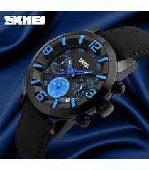 reloj de negocios multifuncional para hombres-azul