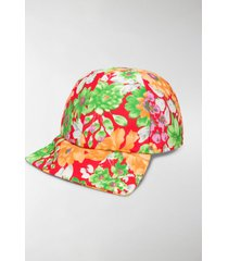 plan c floral print baseball cap