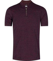 camiseta cuello alto con cremallera para hombre 02684