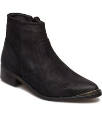 electric w suede sho shoes boots ankle boots ankle boot - flat svart sneaky steve
