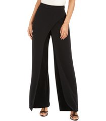 adrianna papell petite draped evening pants