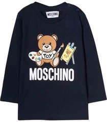 moschino blue navy t-shirt