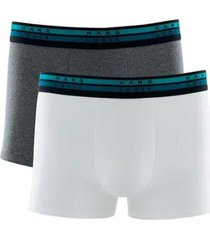 kit 2 cuecas boxer hang loose cotton modal - masculino
