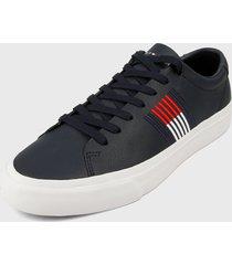 tenis azul navy-rojo-blanco tommy hilfiger