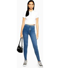 tall belt loop joni jeans in indigo - indigo