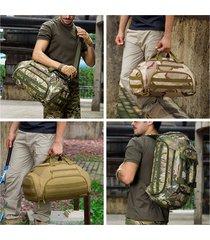 borsa a tracolla con manico a 35l in poliestere da viaggio multifunzionale zaino borsa a mano