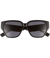 women's dior 57mm butterfly sunglasses -