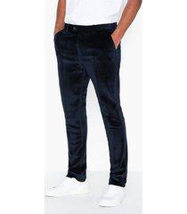premium by jack & jones jprhannibal mack trouser byxor mörk blå