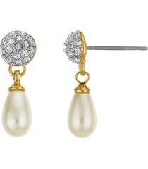 aretes perla/dorado buckley london