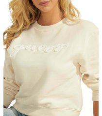 guess amanda fleece sweatshirt
