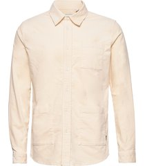 jules corduroy hybrid overhemd casual crème les deux
