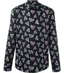 camisa bermudas triangle