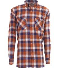 camisa villela marrón kotting