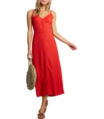 women's billabong sugared life midi dress