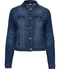 lisa denim jacket jeansjacka denimjacka blå cream