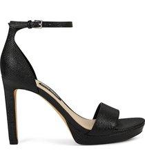 sandalia para mujer nine west edyn3 - negro