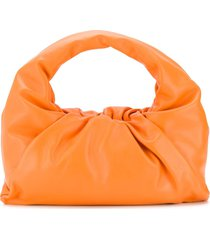 bottega veneta the shoulder pouch - orange