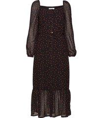 valery print dress jurk knielengte multi/patroon modström