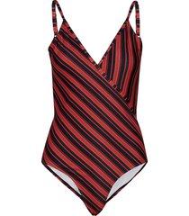 ovaliegz swimsuit ao19 baddräkt badkläder multi/mönstrad gestuz