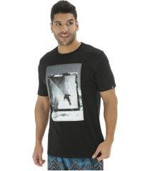 camiseta o'neill estampada framed - masculina - preto
