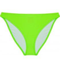 bikini dół neon green