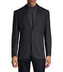travel hadwart regular-fit 2-in-1 virgin wool-blend jacket