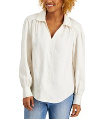 willow drive shirred top