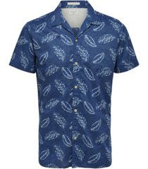 selected men's printed short sleeve shirt