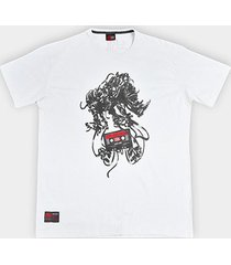 camiseta ecko plus size estampada masculina