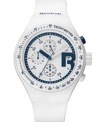 reloj icon ghost chrono blanco reebok
