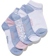women's body ankle cut socks set, pack of 5
