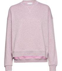 isoli sweat-shirt tröja lila ganni