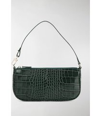 by far crocodile-effect shoulder bag