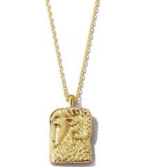 aries zodiac pendant necklace