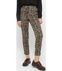pantalón ash fantasía multicolor - calce ajustado