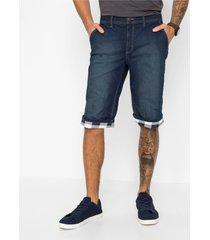 regular fit lange stretch jeans bermuda