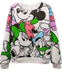 freeze 24-7 trendy plus size disney-print sweatshirt