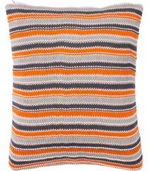 """candy stripe knit 20"""" x 20"""" pillow"""