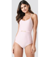 ida sjöstedt bella swimsuit - pink