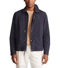 polo ralph lauren men's packable commuter coat