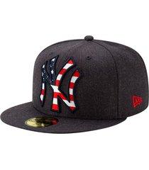gorra 5950 new york yankees americana - new era