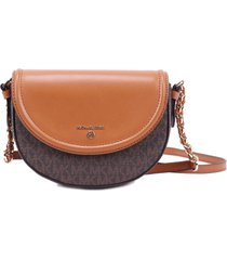 michael kors collection md half dome chain xbody jetset charme